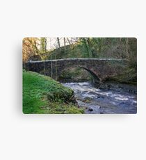 Packhorse Bridge - West Burton Canvas Print