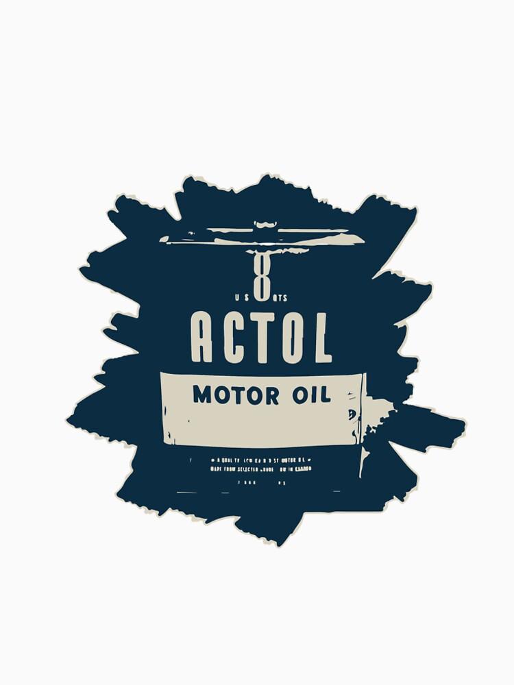 Aceite de motor actol de OilandGas