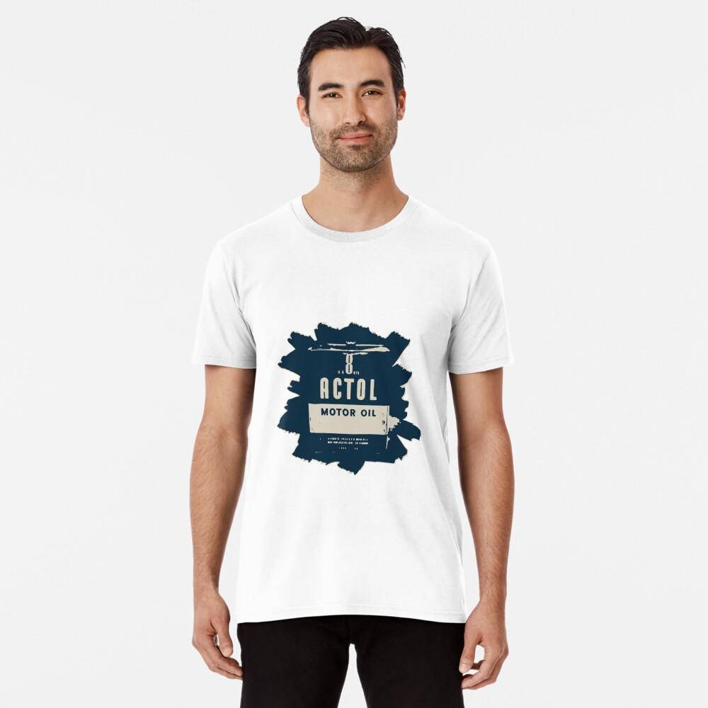 Aceite de motor actol Camiseta premium