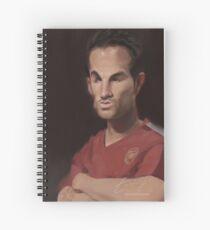 Cesc Fabregas - The Maestro Spiral Notebook