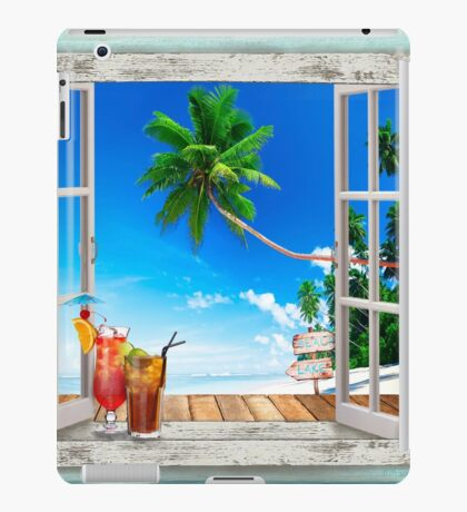 Love Summer View iPad Case/Skin