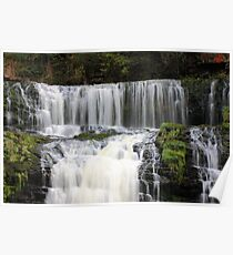 Waterfall Sgwd Isaf Poster