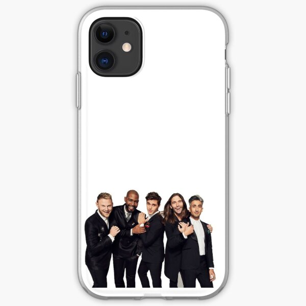 The Fab Five iPhone Soft Case