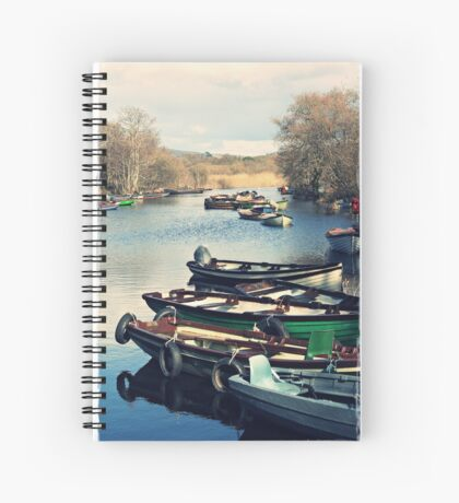paper boats Spiral Notebook