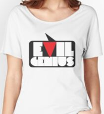 evil genius [i know a few] Women's Relaxed Fit T-Shirt