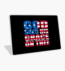 God Shed His Grace On Thee Laptop Skin