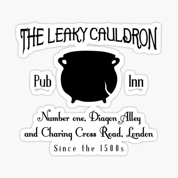 Leaky Cauldron Sticker