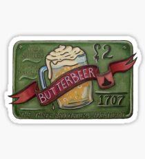 Butter Beer Sticker