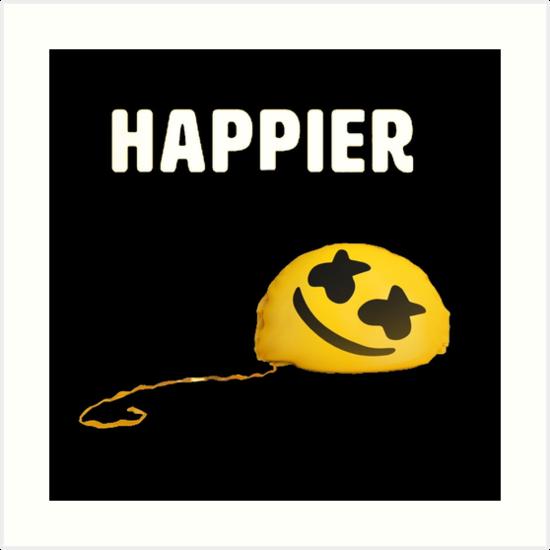 "Marshmello Bastille Happier: Marshmello & Bastille "" Art Prints By"