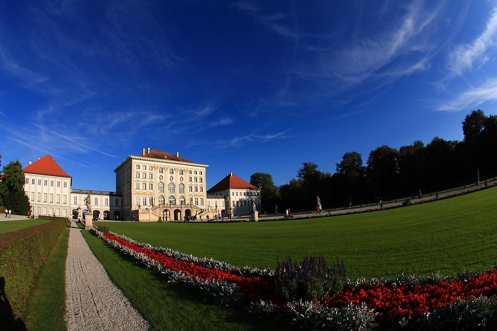 The Castle of Nymphenburg  by SinaStraub