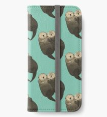 Significant Otters - Otters Holding Hands iPhone Wallet/Case/Skin