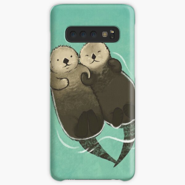 Significant Otters - Otters Holding Hands Samsung Galaxy Snap Case