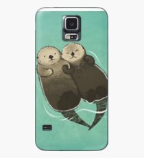 Significant Otters - Otters Holding Hands Case/Skin for Samsung Galaxy
