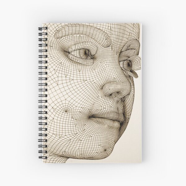 The Fabrication of Reality IV Spiral Notebook