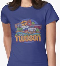 Visit Twoson Women's Fitted T-Shirt