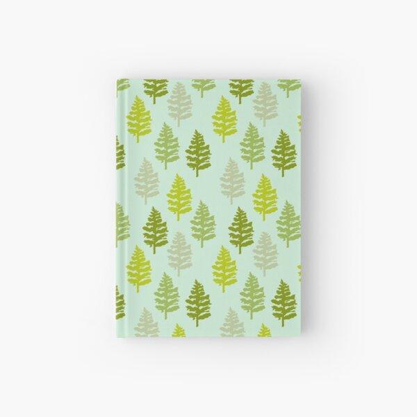Christmas Trees Hardcover Journal