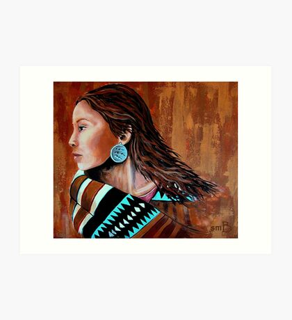 Mariah, Wrapped In Tradition #12 Art Print