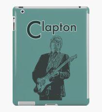 Eric with a guitar iPad Case/Skin