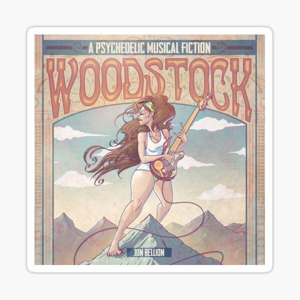 Woodstock Psychedelic Fiction Jon Bellion Merch Sticker