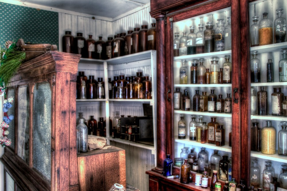 Apothecary by Terence Russell