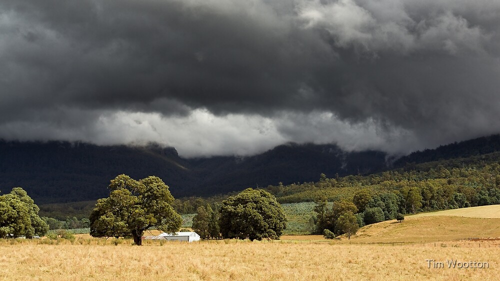 Western Tiers Storm by Tim Wootton