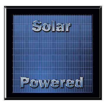Solar Powered by Buckwhite