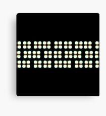 Pixels (3D / Stereogram) Canvas Print
