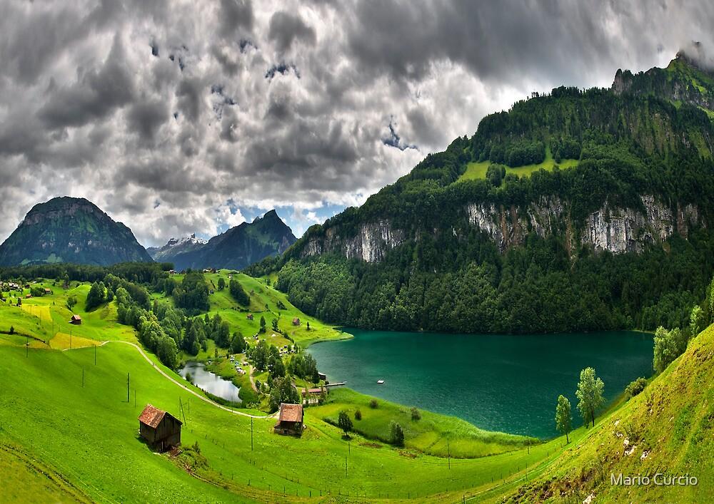Alpine Landscape by Mario Curcio