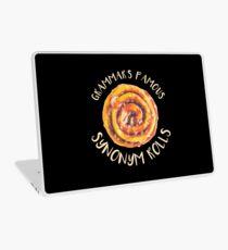 Vinilo para portátil Sinónimo divertido Rolls Grammar regalos Inglés Sinónimo Roll regalo