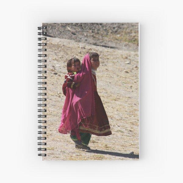 Sisters (Afghanistan) Spiral Notebook