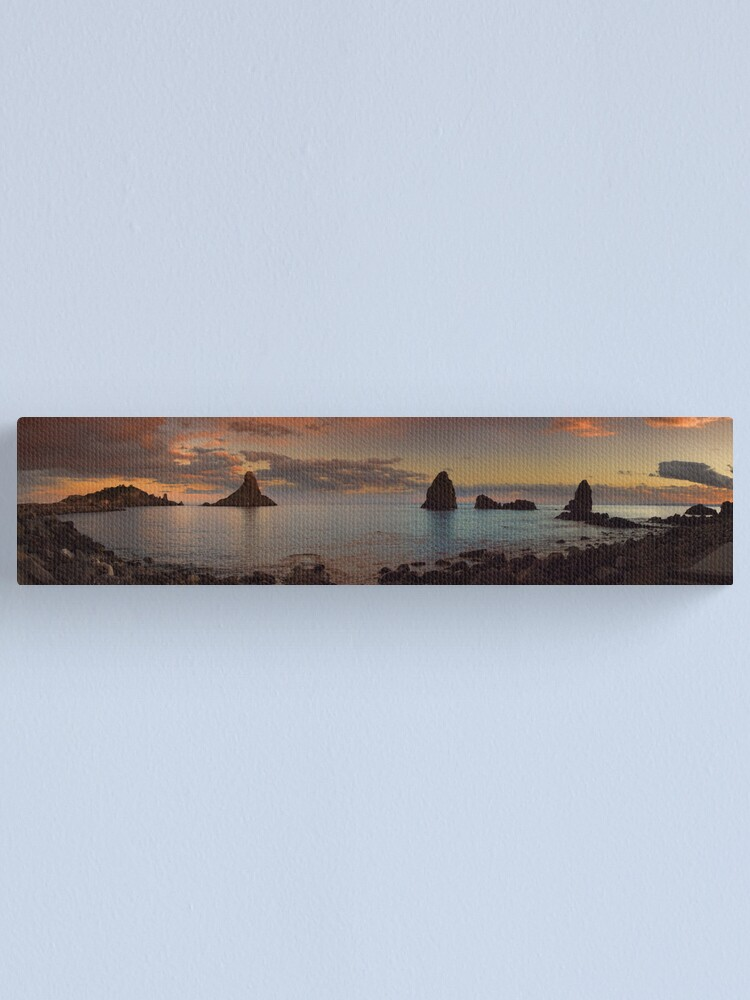 Alternate view of A beautiful  sunset Canvas Print