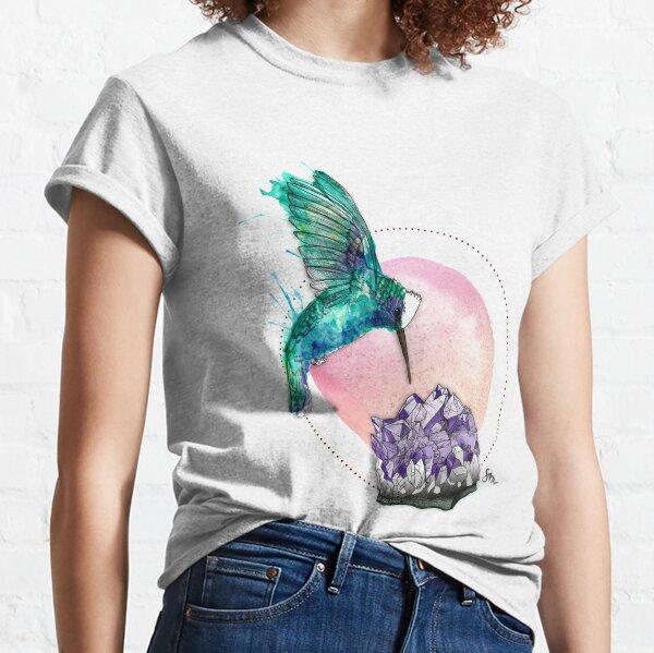 Hummingbird and Amethyst Classic T-Shirt