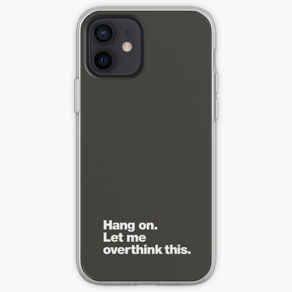 Hang on. iPhone Case & Cover