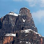 Castle Mountain, Eisenhower Tower by Alex Preiss