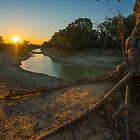 Sunset over the Darling by Toddy4x4