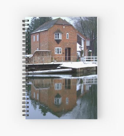 Reflections - Kennet and Avon Canal Spiral Notebook