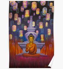 Light of Buddha Poster
