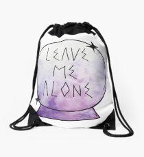 Leave me alone. Drawstring Bag