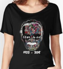 Stan Lee - Man of Many Faces Women's Relaxed Fit T-Shirt