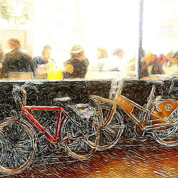 Eating in Amsterdam by henryharrison