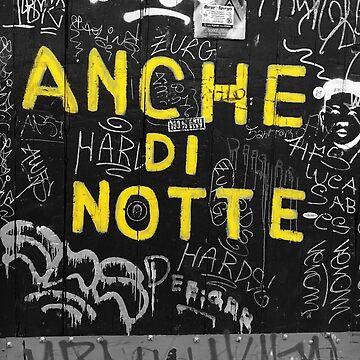 Anche di Notte Black and White Street Photography Bologna by signorino