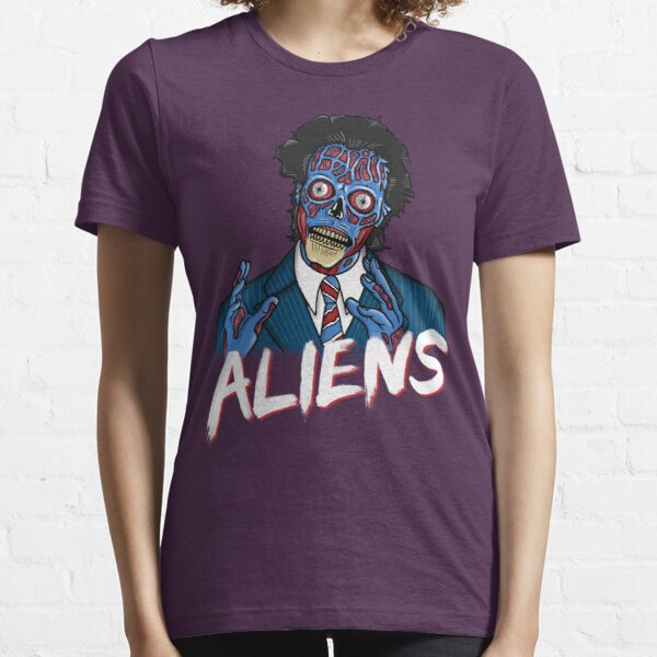 BECAUSE ALIENS Essential T-Shirt