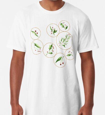 Berries Baubles #redbubble #xmas Long T-Shirt