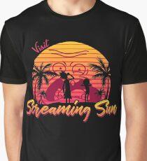 Visit Screaming Sun Graphic T-Shirt