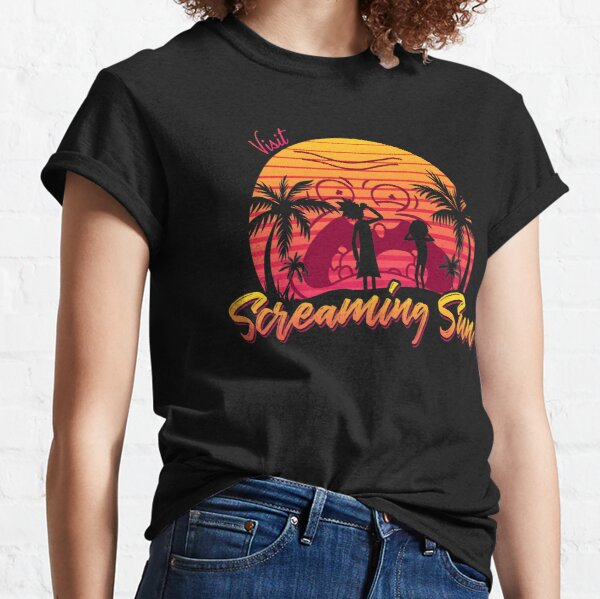 Visit Screaming Sun Classic T-Shirt