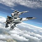 NATO reporting name Flanker by Airpower Art