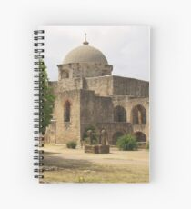 Back of Church at Mission San Jose Spiral Notebook