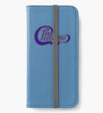 Chicago In Blue iPhone Wallet/Case/Skin