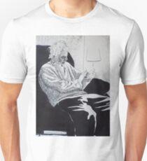 7 minutes, 33 seconds. 9''x12''. pen on paper. adam sturch T-Shirt