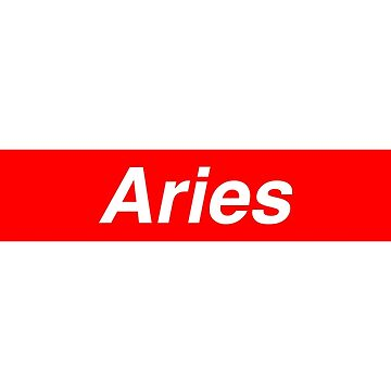 Aries Supreme Parody by underscorepound